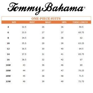 Tommy Bahama Swim - Tommy Bahaa Tummy Control V-Neck One Piece Sz 10